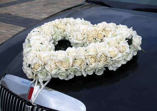 Wedding Car Decorations 9 Driven First Uk